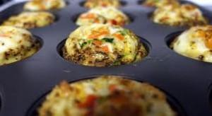 egg quiche muffins