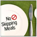 If I skip a few meals, I will lose more weight?!