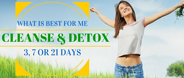 What are the best Cleanse Detox options for my body?