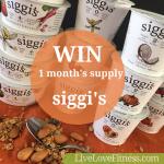 Giveaway: 1 month supply of siggi's icelandic-style yogurt